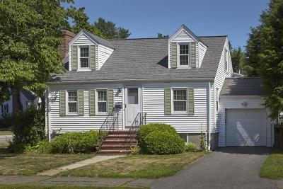 Watertown MA Single Family Home Under Agreement: $548,000