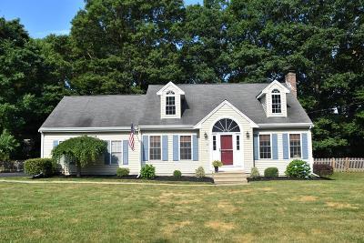 Attleboro Single Family Home Contingent: 36 Buena Vista Drive
