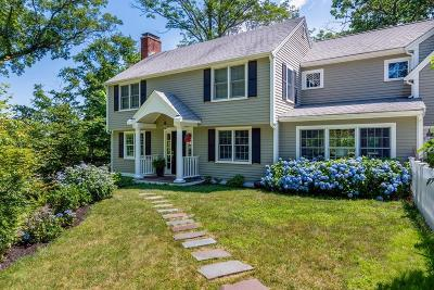 Cohasset MA Single Family Home For Sale: $875,000