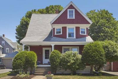Medford Single Family Home Under Agreement: 75 Otis St