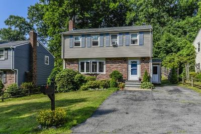 Dedham Single Family Home Under Agreement: 111 Greensboro Rd