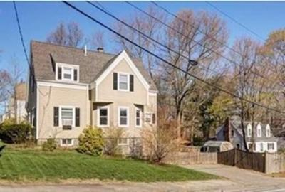 Braintree Single Family Home For Sale: 42 Stetson St