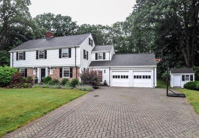 Wellesley Single Family Home Under Agreement: 15 Mountview Rd