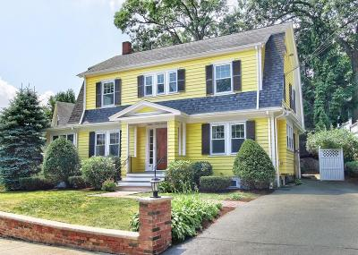 Melrose Single Family Home Contingent: 62 Richardson Road