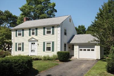 Newton Single Family Home Under Agreement: 19 Richards Circle