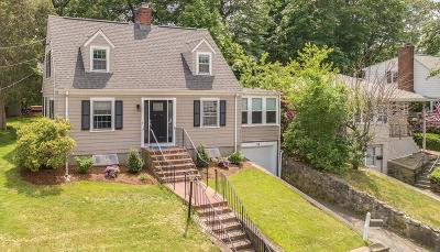 Waltham Single Family Home For Sale: 29 Villa St