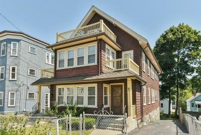 MA-Suffolk County Multi Family Home For Sale: 181 - 183 Cornell St