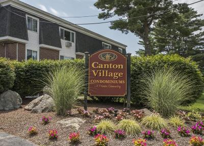 Canton Condo/Townhouse For Sale: 49 Will Dr #125