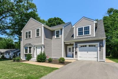 Milton Single Family Home For Sale: 94 Nahanton Ave