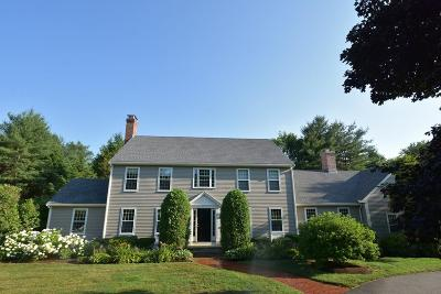 Sudbury Single Family Home Contingent: 15 Hawes Rd