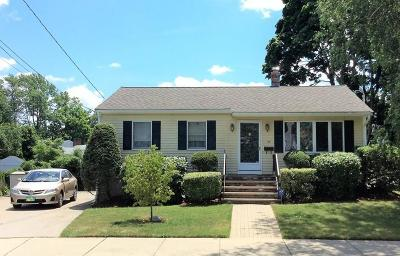 Watertown MA Single Family Home Under Agreement: $524,999
