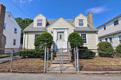 Quincy Single Family Home For Sale: 3 Newbury Ave