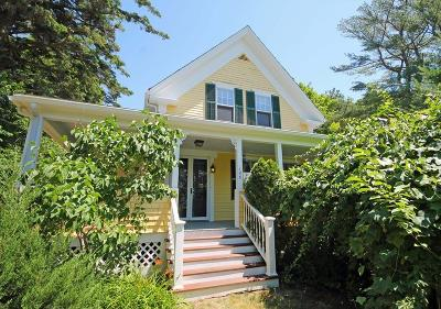 Marshfield Single Family Home For Sale: 166 Plain St