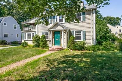 Needham Single Family Home For Sale: 1253 Great Plain Ave