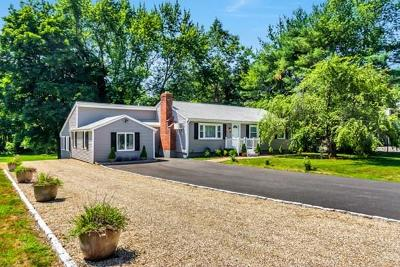 Sudbury Single Family Home Under Agreement: 798 Concord Rd