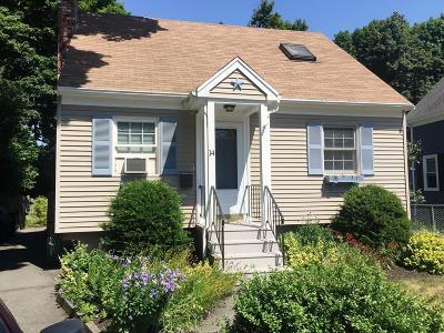 Braintree Single Family Home For Sale: 14 Wyman Road