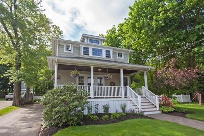 Cohasset MA Single Family Home For Sale: $869,000