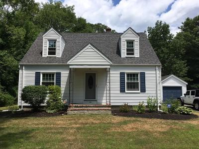 West Bridgewater Single Family Home For Sale: 486 East Street