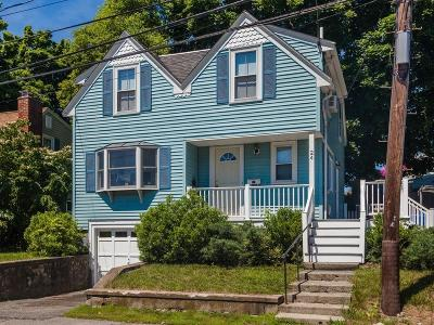 Waltham Single Family Home Under Agreement: 24 Lakeview Terrace