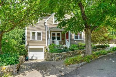 Arlington MA Single Family Home Under Agreement: $849,900