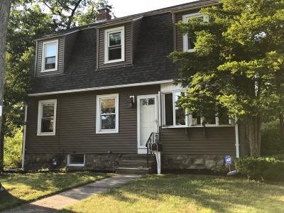Braintree Single Family Home Under Agreement: 7 Norfolk Rd