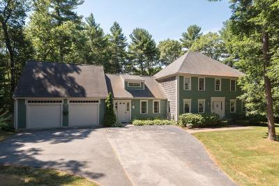 Marshfield Single Family Home Contingent: 185 Sawyers Ln