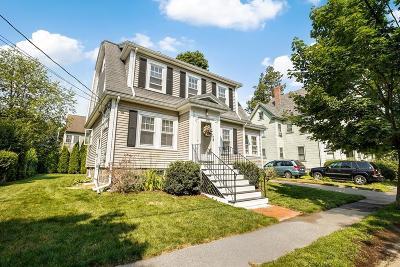 Milton Single Family Home Under Agreement: 41 Huntington Rd