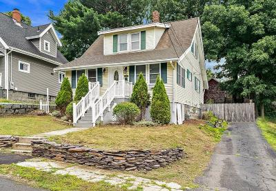 Braintree Single Family Home For Sale: 66 Beechwood Rd