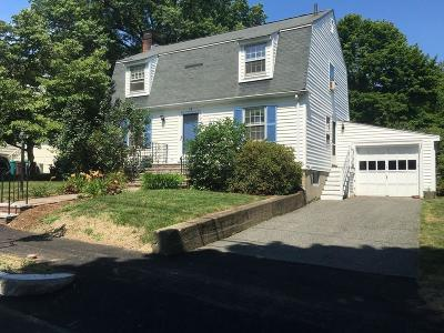 Arlington MA Single Family Home For Sale: $739,000