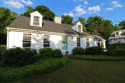 Duxbury Single Family Home Contingent: 63 Captains Hill Rd