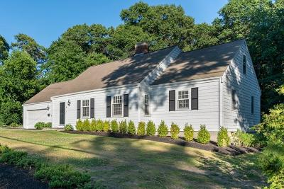 Hingham Single Family Home Contingent: 40 Liberty Pole Rd