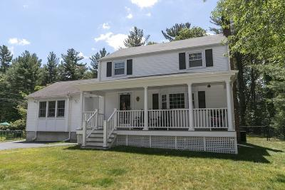 Norwell Single Family Home Contingent: 69 Washington Park Dr