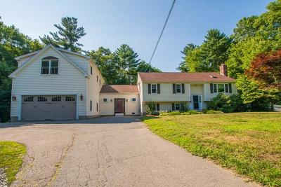 Norton MA Single Family Home For Sale: $594,900