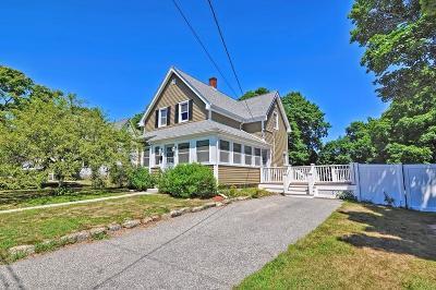 Abington Single Family Home For Sale: 19 Temple St