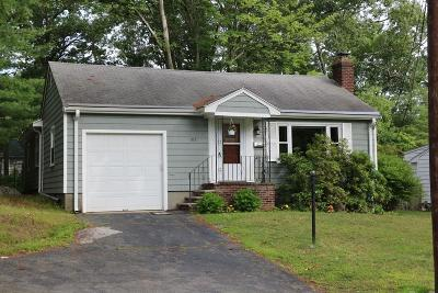 Needham Single Family Home Under Agreement: 107 Marked Tree Rd