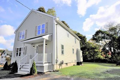 East Bridgewater Single Family Home For Sale: 16 Pearl St