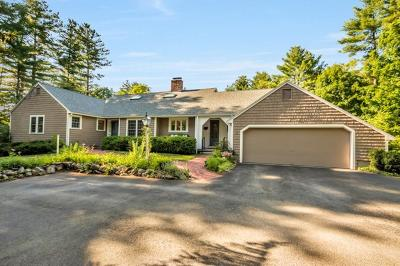 Sherborn Single Family Home New: 6 Peckham Hill Rd