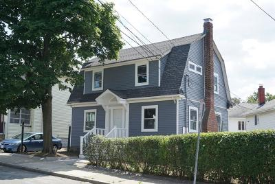 Somerville Single Family Home For Sale: 62 Fairfax St