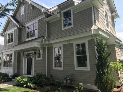 Wellesley Single Family Home For Sale: 7 Bemis Rd