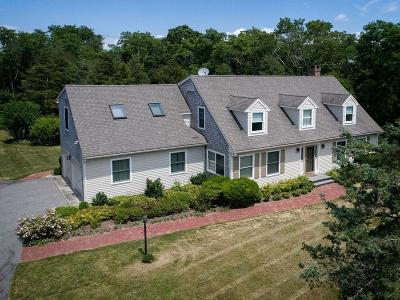 Bourne Single Family Home New: 6 Old Cataumet
