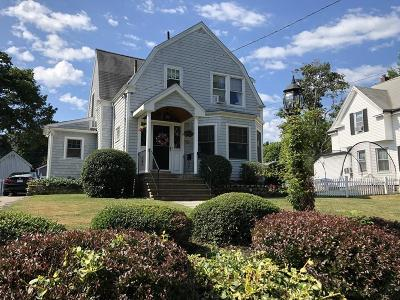 Braintree Single Family Home For Sale: 80 West Street