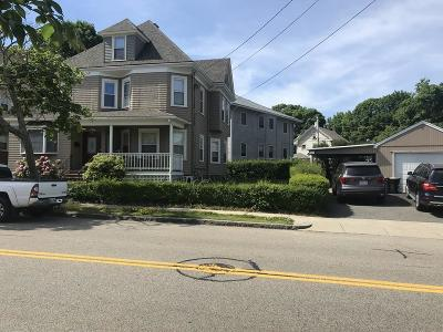 Quincy Single Family Home Contingent: 23 Standish Ave