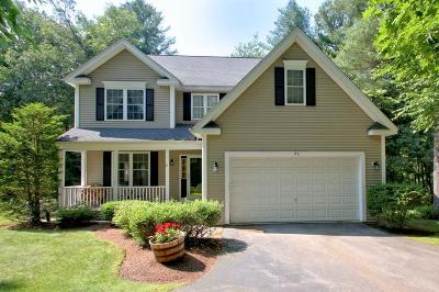 Southborough Single Family Home Under Agreement: 49 Wildwood Drive