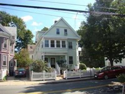 Cambridge Rental New: 34 Walden Street #1