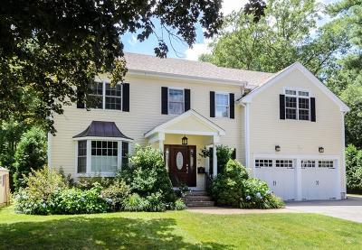Wellesley Single Family Home Under Agreement: 38 Halsey Ave