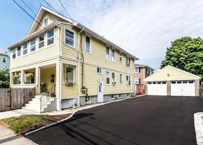Watertown Condo/Townhouse Under Agreement: 37 Myrtle Street #37