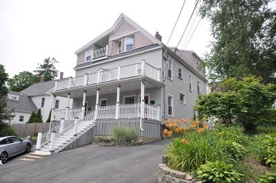 Wakefield Single Family Home New: 9 Pleasant Street #B