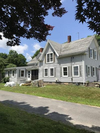 Middleboro Single Family Home Under Agreement: 102 Oaks