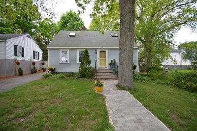 Dedham Single Family Home New: 11 Reed St