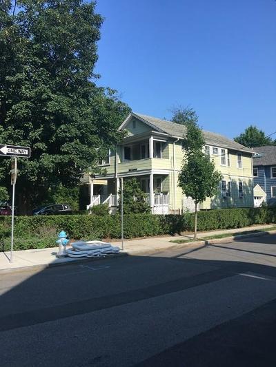 Cambridge Multi Family Home Under Agreement: 170 Vassal Lane